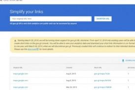 جوجل تعلن نيتها إغلاق خدمة تقصير الروابط Goo.gl الذي كانت كالمعجزة لمستخدمي تويتر